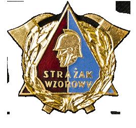 Odznaka strażak wzorowy