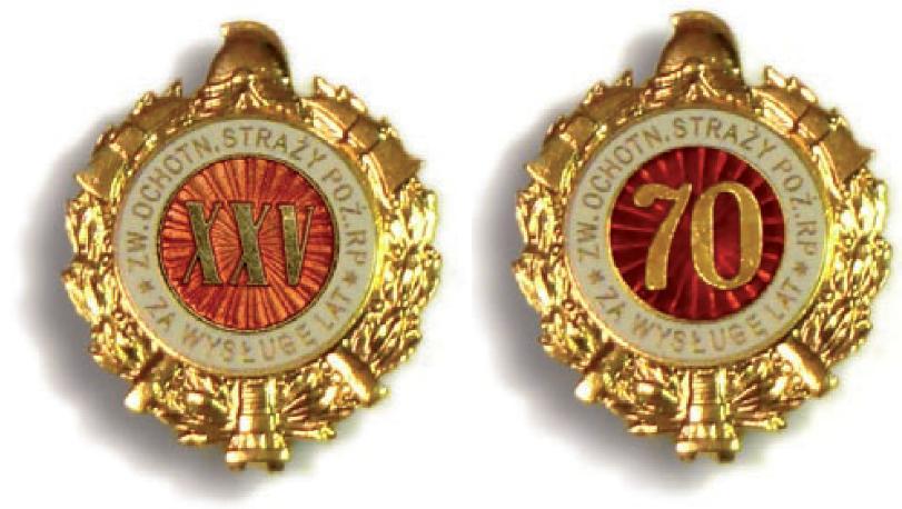 Odznaka za wysługę lat